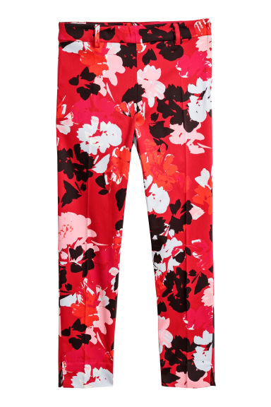 Tailored trousers - Red - Ladies | H&M CN