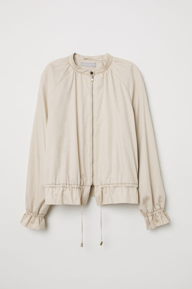 Short jacket - Light beige - Ladies | H&M