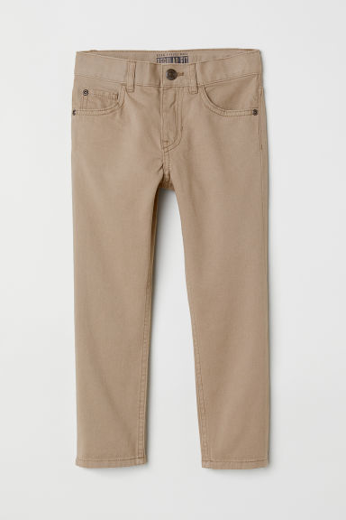 Twill trousers Regular fit - Light mole - Kids | H&M CN