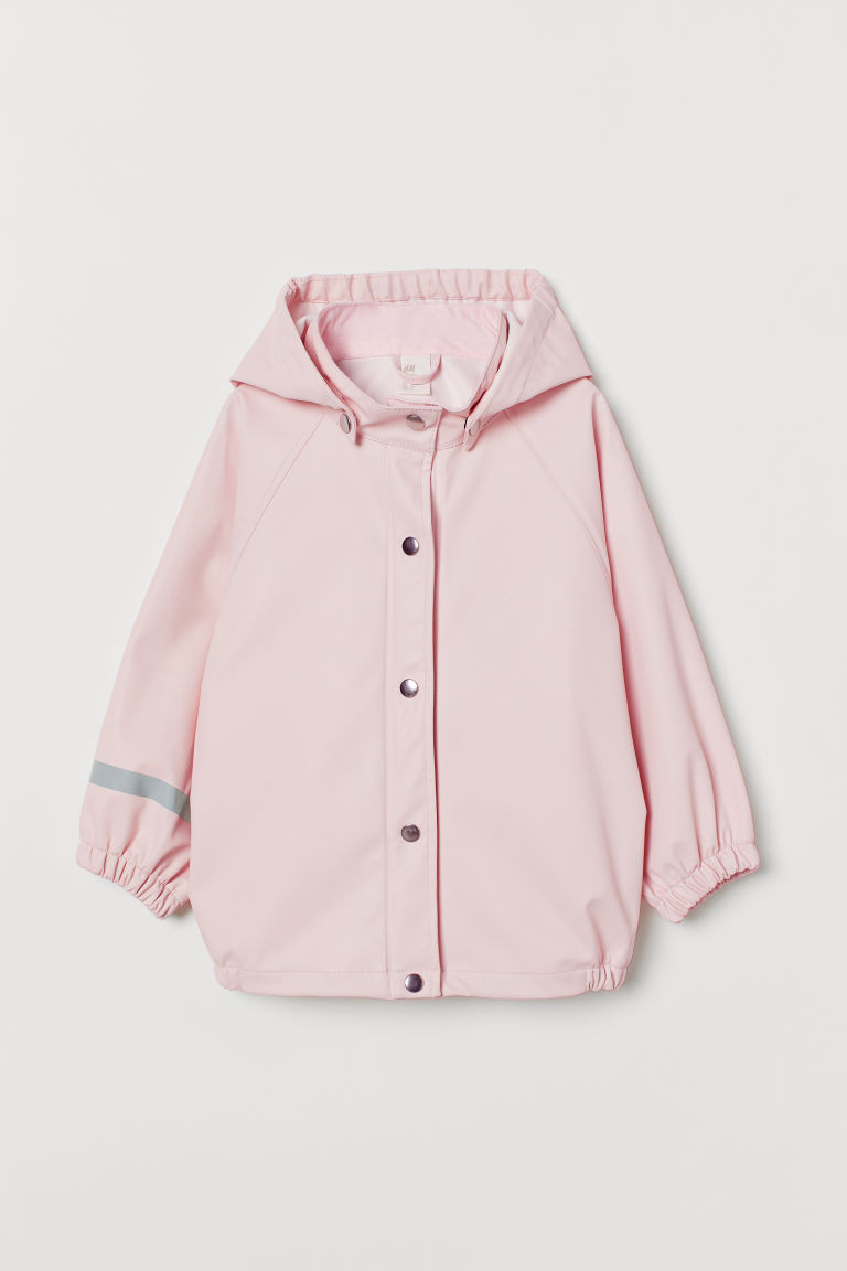 Rain jacket - Light pink - Kids | H&M
