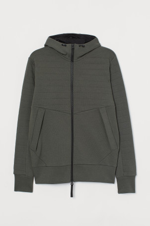 Hooded Sports JacketModel