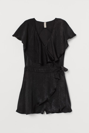 Playsuit med volang