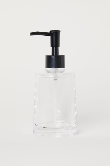 Pompe à savon - Plastique transparent -  | H&M BE