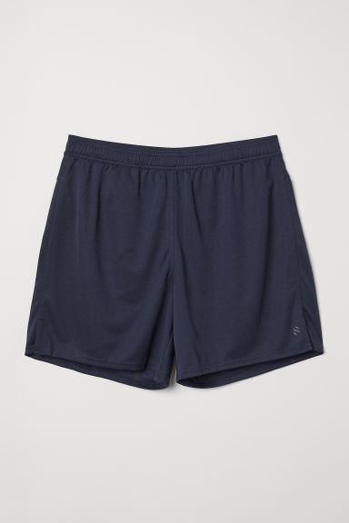 Shorts sportivi - Blu scuro - UOMO | H&M IT