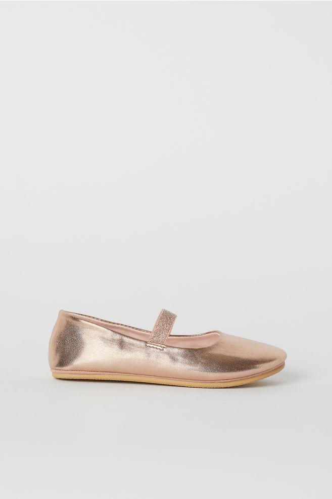 792e9dd2e719 Ballet Flats - Rose gold-colored unicorn - Kids