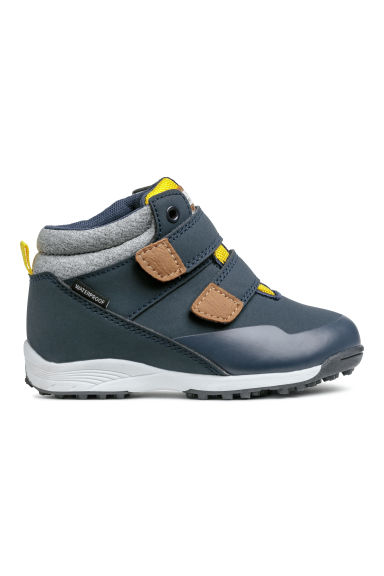 Waterproof hi-tops - Dark blue - Kids | H&M
