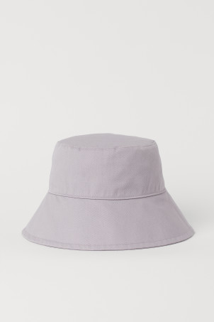 Cotton Bucket HatModel