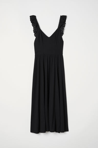 Cotton dress - Black - Ladies | H&M CN