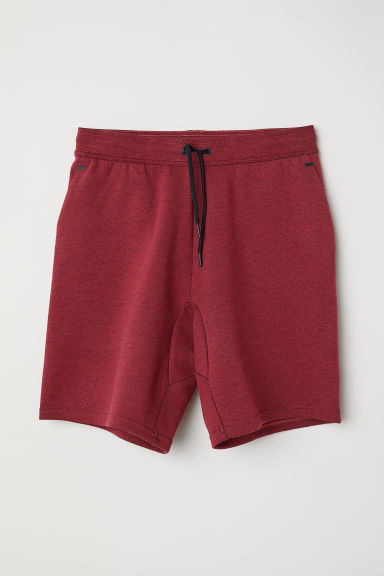 Sports shorts - Red marl - Men | H&M