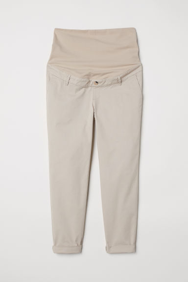 MAMA chinos - Beige - Ladies | H&M