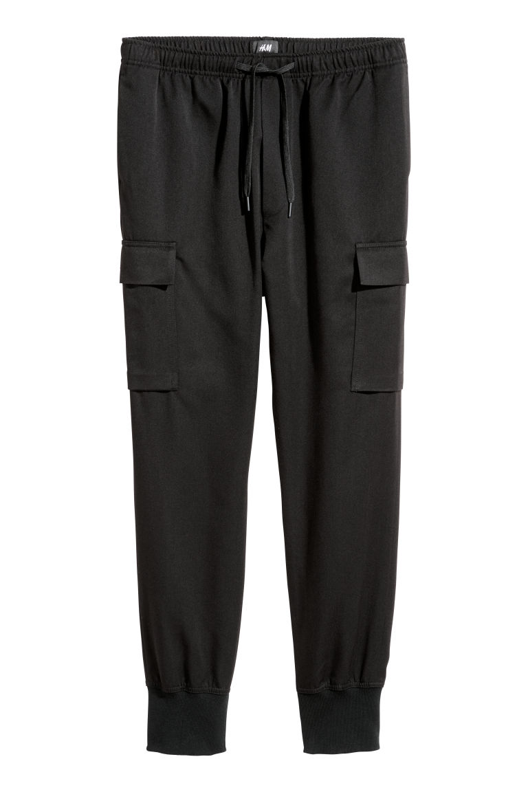 Cargo joggers - Black - Men | H&M IE