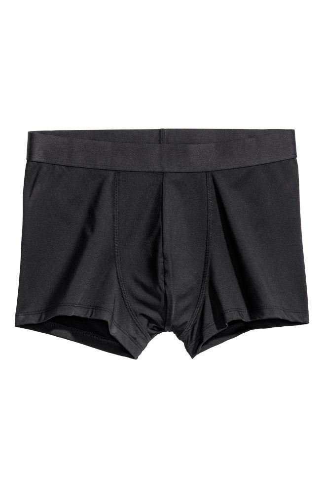 89c409fec 3-pack microfibre boxer shorts - Black - Men
