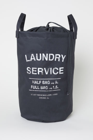 Laundry bag - Dark grey - Home All | H&M IE