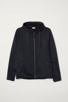 H&M+ Fleece outdoor jacketModel