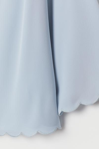 H&M - Scallop-trimmed blouse - 6