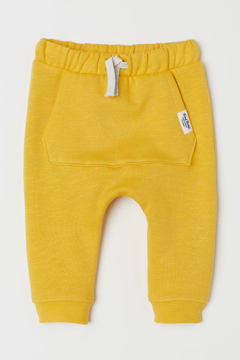 Joggers - Yellow -  | H&M CN