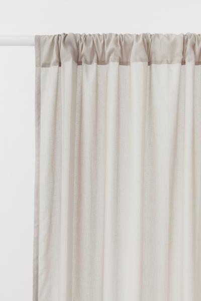 H&M - 2-pack curtain lengths - 1