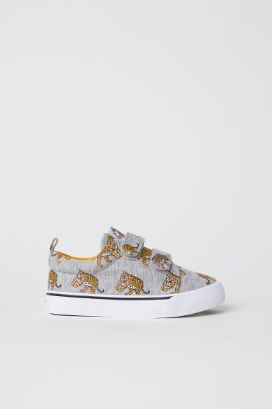 Printed trainers - Grey/Tigers - Kids | H&M