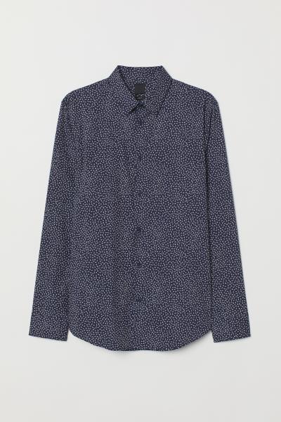 H&M - Camisa elástica Slim fit - 5