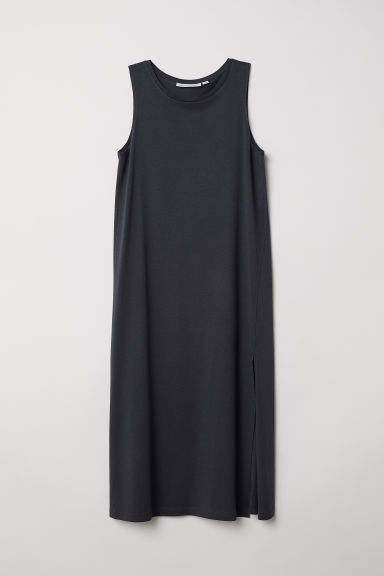 Vest dress - Dark grey - Ladies | H&M CN