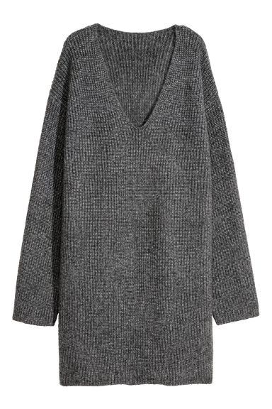 Long jumper - Grey marl -  | H&M