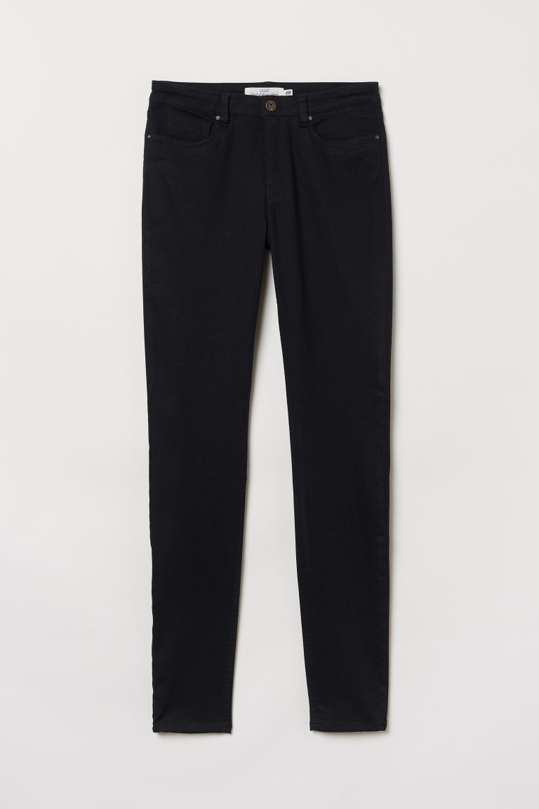Superstretch trousers - Black - Ladies | H&M