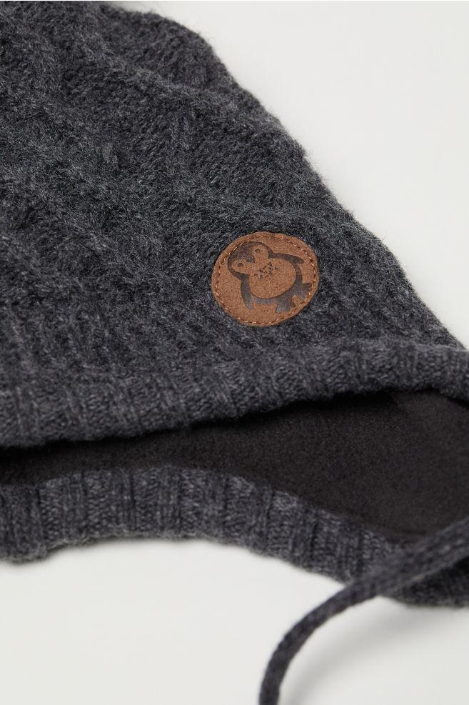 a67ce4ab8b0 Hat and Mittens - Dark gray - Kids