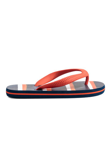 Flip flops - Dark blue/Orange - Kids | H&M