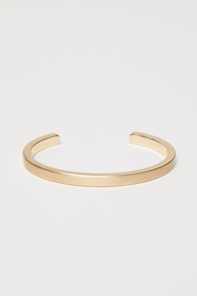 Metal bracelet - Gold-coloured -  | H&M CN