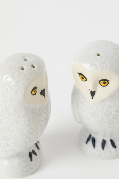 H&M - Ceramic salt and pepper set - 2