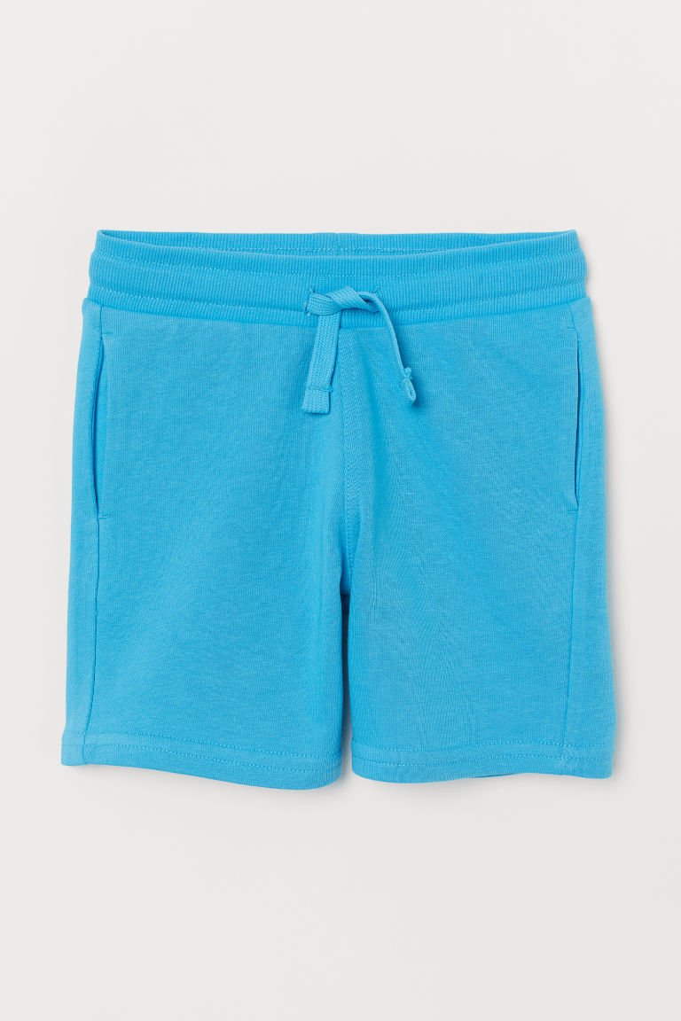 Sweatshirt shorts - Turquoise - Kids | H&M GB