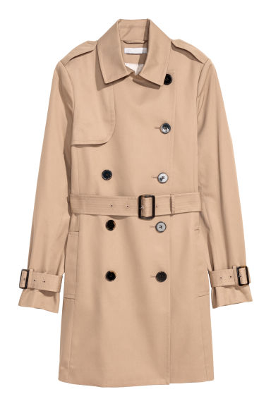 Trenchcoat - Beige - Ladies | H&M GB