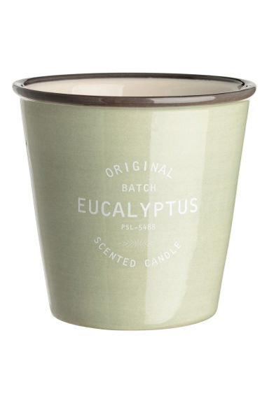 Candela profumata in vasetto - Verde nebbia/Eucalyptus - HOME | H&M IT
