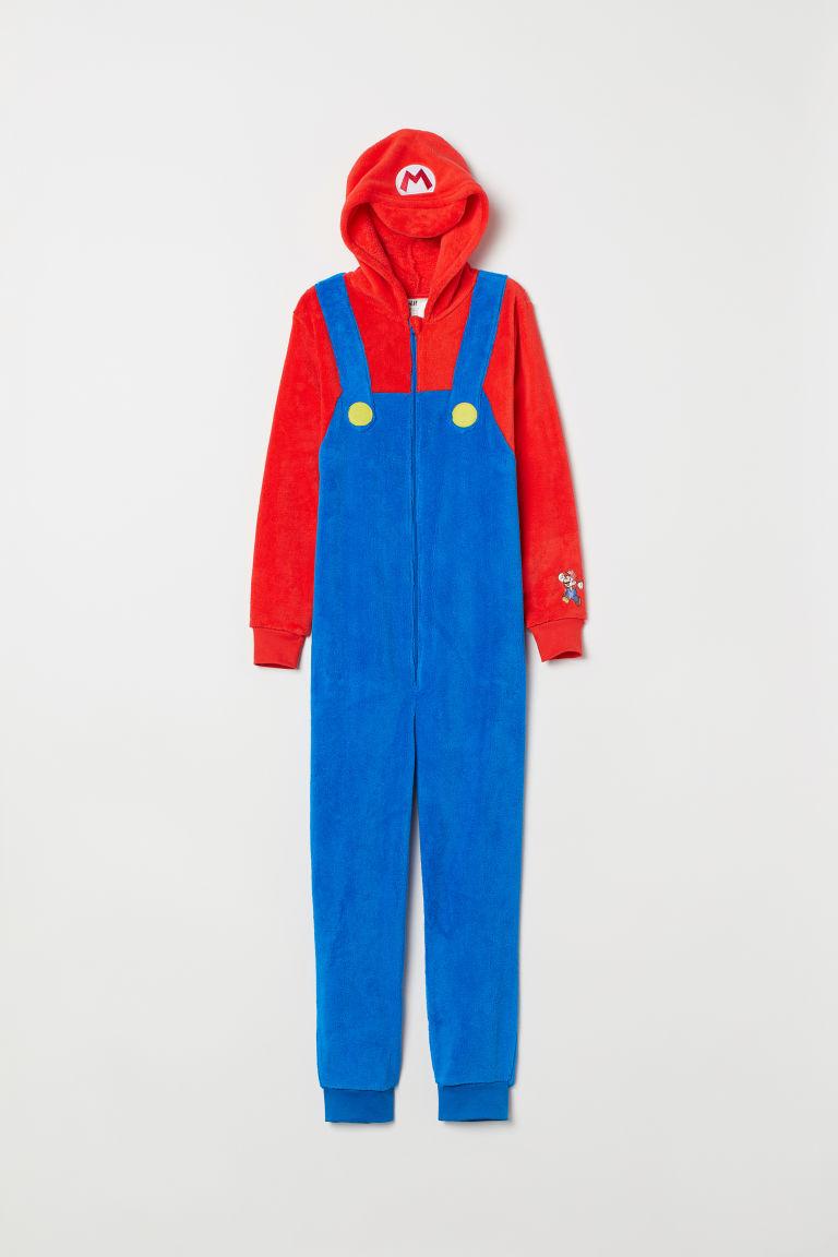 economico in vendita stile unico prezzi Costume per travestimento - Blu acceso/Super Mario - BAMBINO ...
