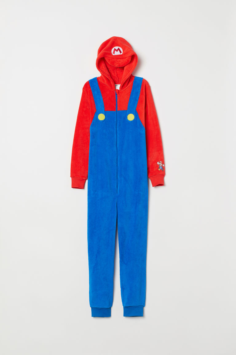 Costume - Bright blue/Super Mario - Kids | H&M CA