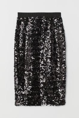 Skirt with Sequins 0a594a64d