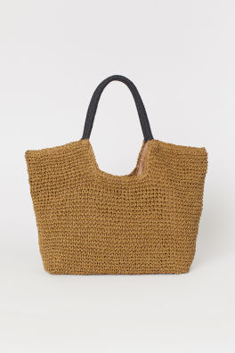 d66ff733d46 Paper Straw Shopper