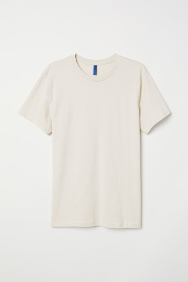 T-shirt - Light beige - Men | H&M CN