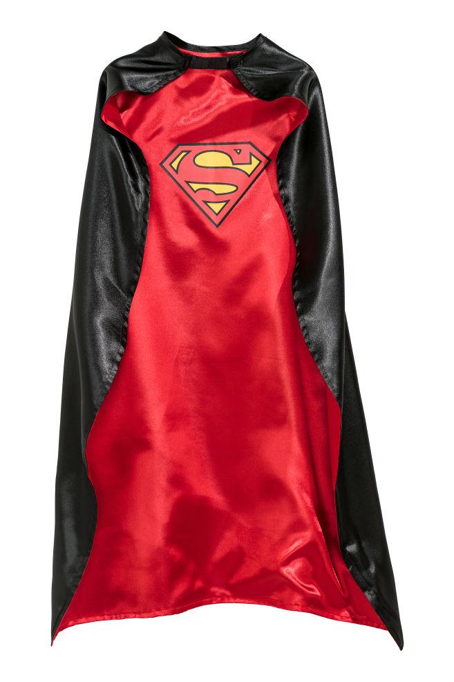 4868c7255b5fe9 Mantello da supereroe - Nero Batman/Superman - BAMBINO | H&M ...