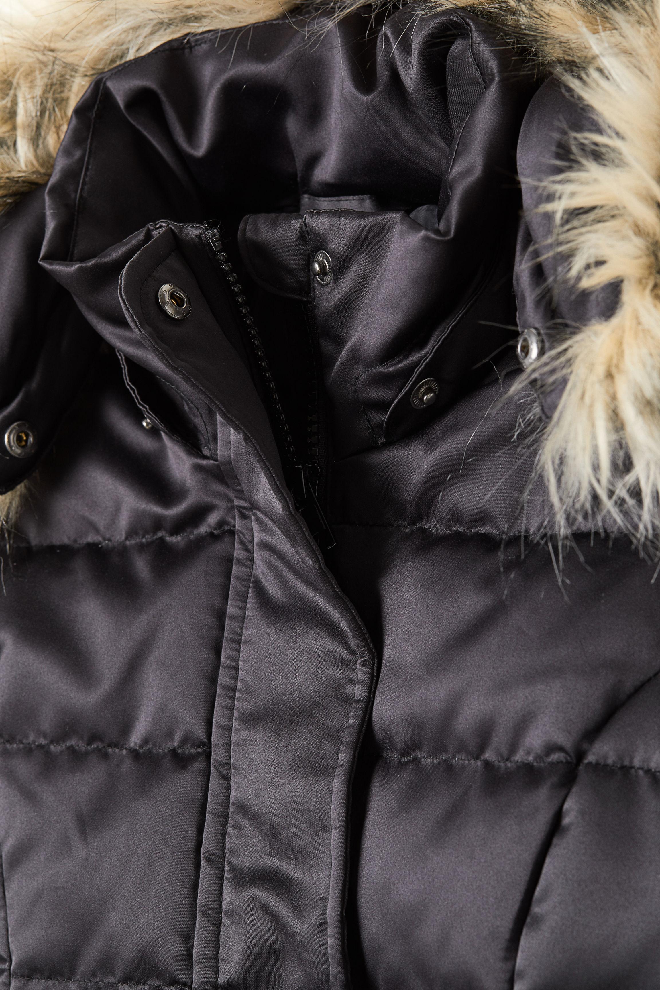 fc38955e5 Páperová bunda s kapucňou - čierna - DETI | H&M SK