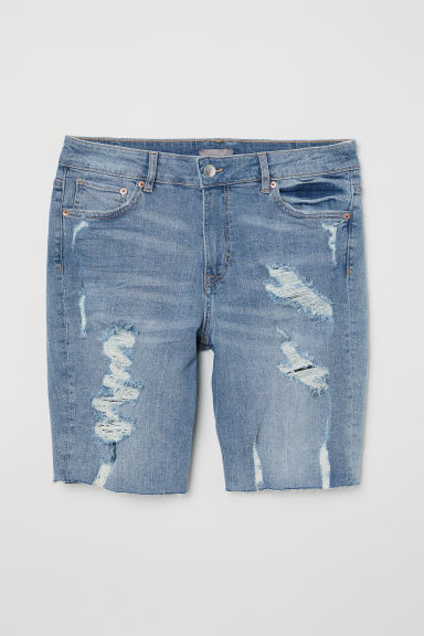 H&M+ Shorts in denim - Blu denim - DONNA | H&M IT