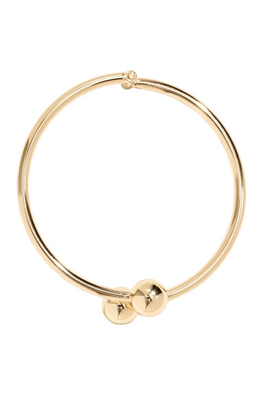 Metal bangle - Gold-coloured -  | H&M CN
