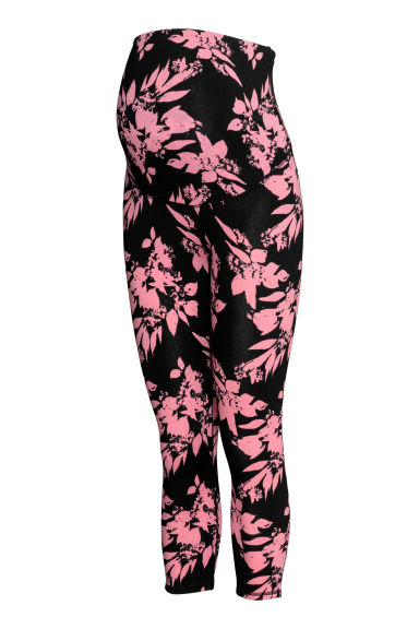 MAMA Leggings - Nero/rosa - DONNA | H&M IT