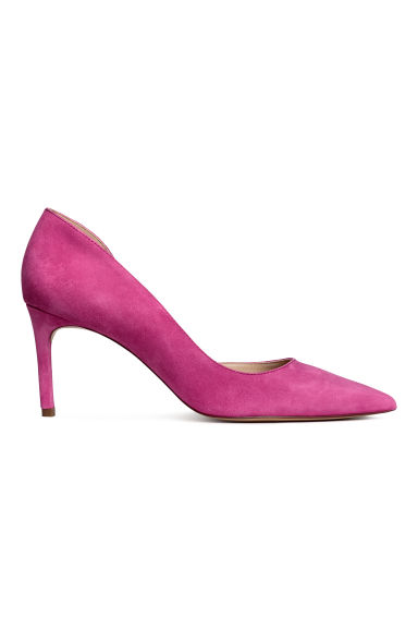 Court shoes with pointed toes - Magenta - Ladies | H&M IN