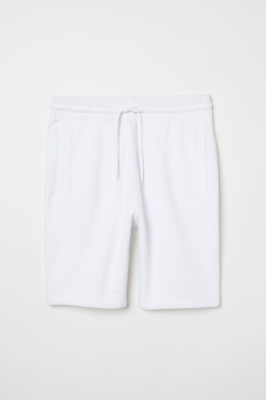 Sweatshorts - White - Men | H&M US