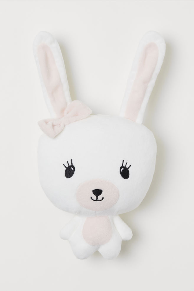1bb12b0bed5 Soft Toy - White rabbit - Home All