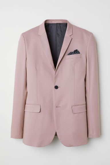 Jacket Skinny fit - Old rose - Men | H&M