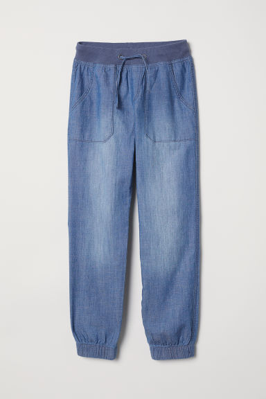 Joggers - Denim blue - Kids | H&M
