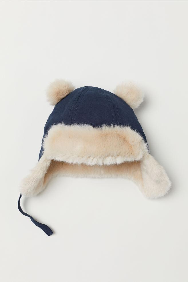 Gorro con forro polar - Azul oscuro - NIÑOS  6ed7406714a