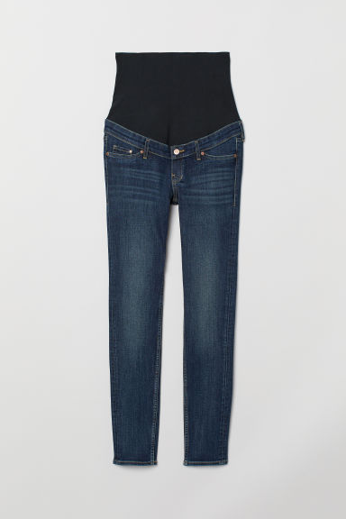 MAMA Skinny Jeans - Dark denim blue - Ladies | H&M
